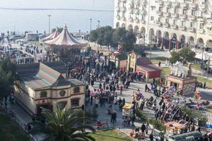 Χριστουγεννιάτικο κλίμα στο νομό Θεσσαλονίκης