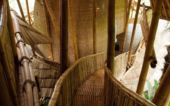 """Το """"πράσινο"""" χωριό στο δάσος του Μπαλί"""