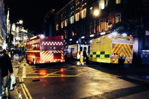 Κατέρρευσε η οροφή σε διάσημο θέατρο του Λονδίνου