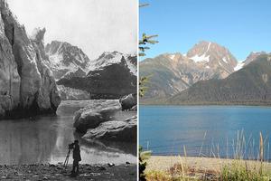 Οι φωτογραφίες αποτυπώνουν τις αλλαγές στους παγετώνες της Αλάσκας