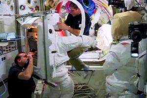Διαστημικός «περίπατος» για επιδιόρθωση βλάβης