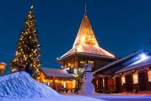 Μαγικά Χριστούγεννα στο χωριό του Άγιου Βασίλη
