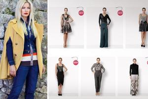 Η Ζέτα Μακρυπούλια έγινε σχεδιάστρια μόδας