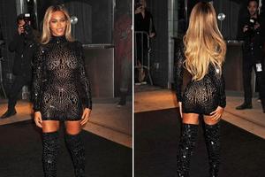 Η Beyonce μάγεψε τη Νέα Υόρκη
