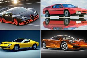 Τα supercars που έφεραν καινοτόμες τεχνολογίες στην αυτοκίνηση