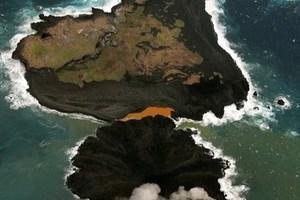 Ηφαιστειογενές νησί στην Ιαπωνία συνεχίζει να επεκτείνεται