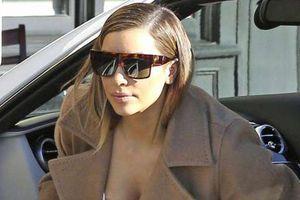 Laser για να φύγουν οι ραγάδες έκανε η Kim Kardashian