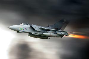 Βρετανικό μαχητικό πετά με εξαρτήματα από 3D εκτυπωτή