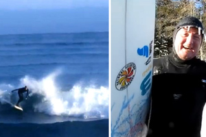 Σκίζοντας τα κύματα... στους -46 βαθμούς