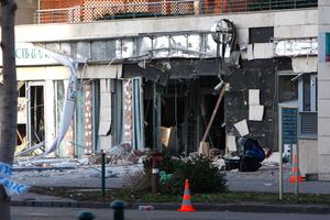 Βομβιστική επίθεση σε τράπεζα της Βουδαπέστης