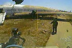 Επιβίωσε από το αεροπορικό δυστύχημα αλλά την πάτησε το πυροσβεστικό