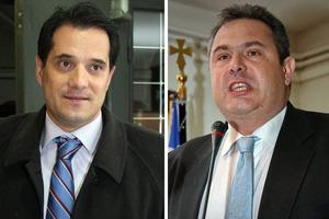 Ο Π. Καμμένος ζητά 670.000 ευρώ από τον Α. Γεωργιάδη