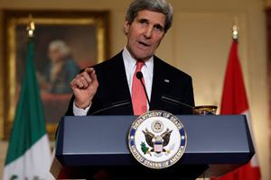 Κέρι: Δημιουργία αραβικής συμμαχίας κατά του Ισλαμικού Κράτους