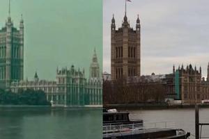 Ταξίδι στο Λονδίνο του 1927 και του 2013