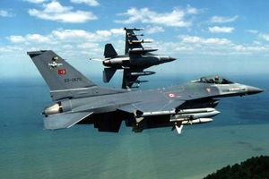 Υπέρπτηση τουρκικών F-16 πάνω από τη Στρογγύλη
