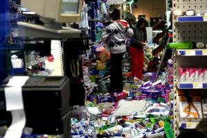 Φωτογραφίες από την Κεφαλονιά μετά τον σεισμό