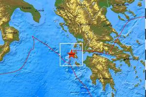 Σεισμός 5,9 Ρίχτερ στην Κεφαλονιά