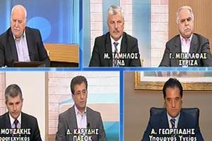 Σφοδρή κόντρα μεταξύ του Άδωνι Γεωργιάδη και Γιάννη Μπαλάφα