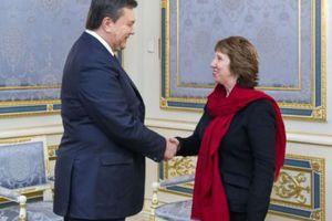 Τον ουκρανό πρόεδρο συναντάει η Κάθριν Άστον