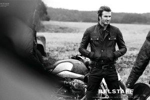 Η νέα καμπάνια της Belstaff με το David Beckham