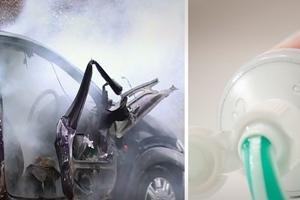 Τι μπορεί να προκαλέσει μια βόμβα μέσα σε οδοντόκρεμα