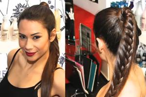 Πώς θα πετύχετε την πολυτελή κοτσίδα «Luxury Braid»