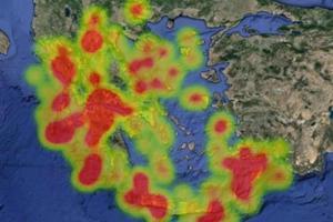 Η σεισμική δραστηριότητα στην Ελλάδα σε ένα βίντεο