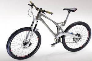 Ποδήλατο με πλαίσιο τιτανίου από 3D εκτυπωτή