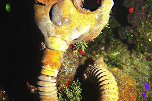 Αντικείμενα από τον Β' Παγκόσμιο στο Chuuk Lagoon