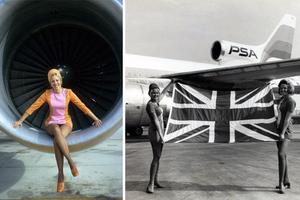 Καυτές αεροσυνοδοί της δεκαετίας του '60