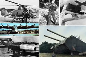Τα υπερόπλα των Ναζί στον Β' Παγκόσμιο