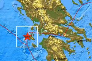 Νέος σεισμός 4,3 Ρίχτερ στην Κεφαλονιά