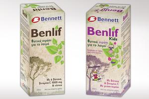 Benlif: Με φυτικά συστατικά και βιταμίνη C