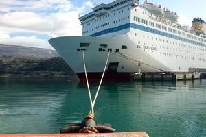 Αναχωρεί σήμερα το «Ελ. Βενιζέλος» από το λιμάνι του Αργοστολίου