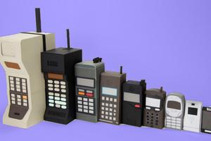 Η εξέλιξη των κινητών τα τελευταία 40 χρόνια