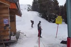 Πρωτάρης στο snowboard