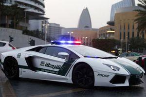Αστυνομικά αυτοκίνητα στο Ντουμπάι