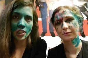 Επίθεση δέχθηκαν δύο μέλη των Pussy Riot