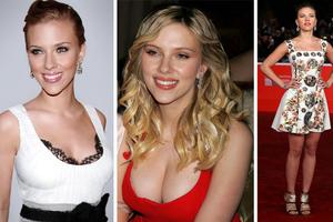 Η Scarlett Johansson τότε και τώρα