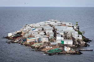 «Στριμωγμένοι» ψαράδες στο νησάκι Migingo