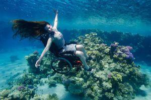 Scuba diving με αναπηρικό καροτσάκι