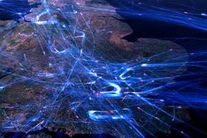 Απεικόνιση από πραγματικά δεδομένα πτήσης