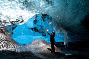 Υπερθέαμα πάγου στην Ισλανδία