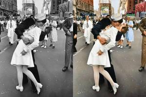 Προσθέτοντας χρώμα σε ιστορικές φωτογραφίες