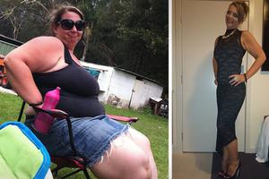 Έχασε 65 κιλά για χάρη των παιδιών της
