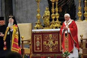 Κοινή προσευχή πάπα και Οικουμενικού Πατριάρχη στον Πανάγιο Τάφο