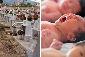 Μείωση στις γεννήσεις και αύξηση στους θανάτους στην Ελλάδα το 2014