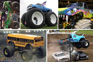 Τα πιο «αιμοβόρικα» Monster Trucks της πίστας