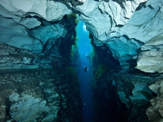 Υποβρύχια σπήλαια για περιπετειώδεις τύπους!