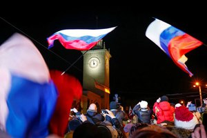 Σε ώρα Μόσχας πλέον η Κριμαία